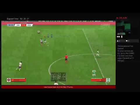 Playing Fifa 20 Hibs Career Mode