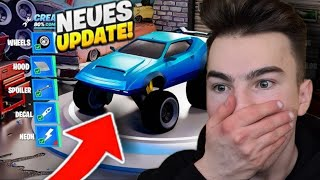 *NEU* AUTO TUNEN UPDATE + GRAPPLER BOGEN in Fortnite!