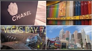 Honeymoon in Vegas: vlog day 7 ❤ June 16th 2014 (Mandalay, M&M World, Bellagio, Palazzo) Thumbnail