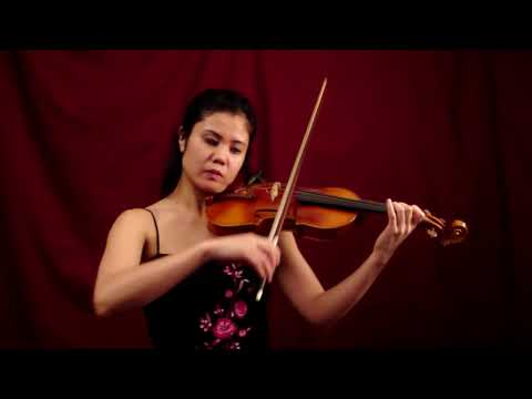 EMI TANABE Performs 'Wedding March' By Mendelssohn