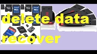 how to recover delete data / laptop/pc/phone /pendrive/memory card ,ka data vapis laye
