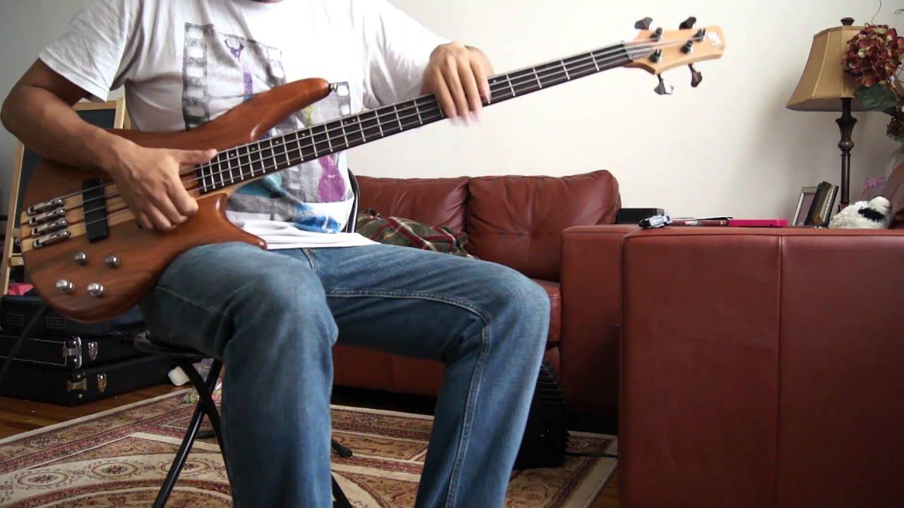 slap bass ibanez youtube