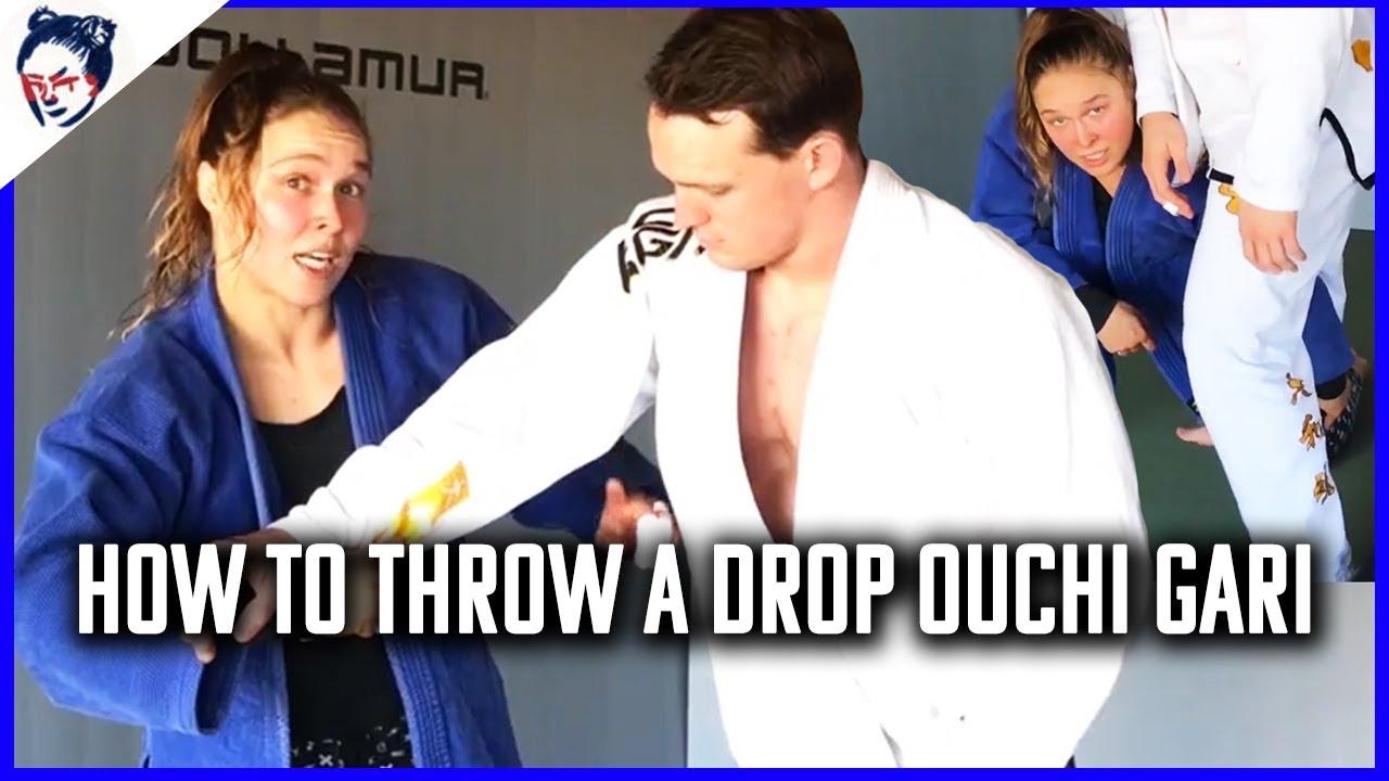 Teaching My Junior World Finals Winning Throw | Ronda Rousey's Dojo #40
