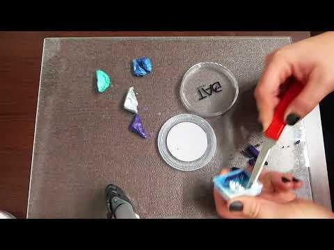 Face paint tutorial - making a bespoke confetti cake