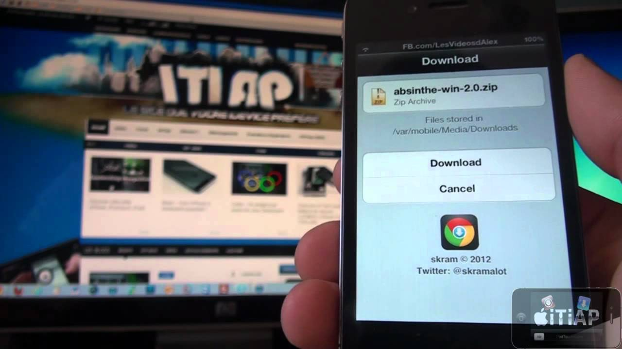 How to add download manager to chrome for iphone and ipad [cydia.