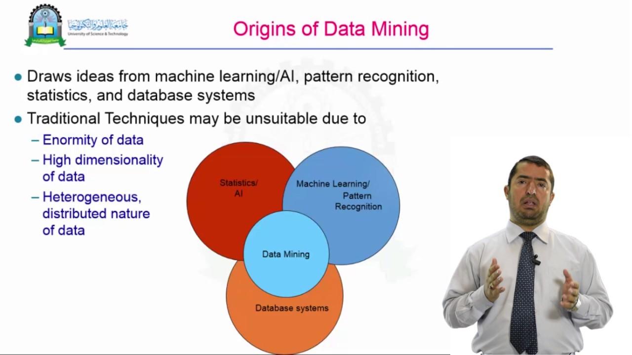 المحاضرة الاولى (مقدمة عن تنقيب البيانات واكتشاف المعرفة ) - مقرر تنقيب البيانات