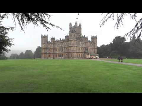 Highclere Castle ( Downton Abbey in the TV Series) Newbury England