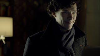 Шерлок разгадал загадку. Спасение человека с бомбой. Шерлок. 2010