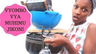 Utapenda Vyombo Hivi Jikoni Kwako♡/ Utunzaji wa Vyombo/ Her Ika (2018)