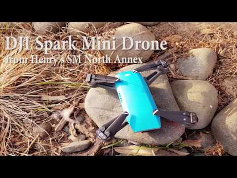 DJI Spark Blue Fly More Combo from Henry's Camera SM North Unboxing