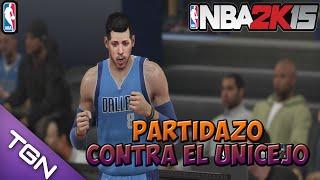 PS4 | NBA2k15 | My Career #36 | Partidazo contra el unicejo