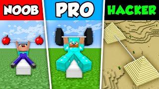 Minecraft NOOB vs PRO vs HACKER : STRENGTH CHALLENGE in Minecraft Animation!