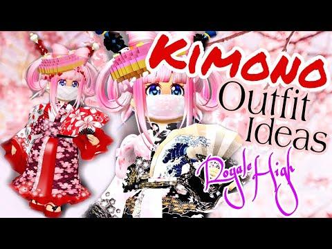 New Kimono Set Outfit Ideas Cherry Blossom Set And