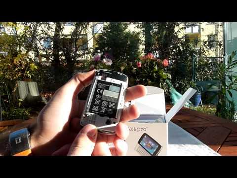 Sony Ericsson txt Pro Unboxing