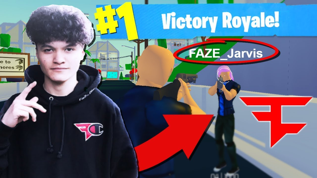 Faze Jarvis Got Banned... So He Played Strucid (Roblox ...