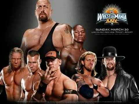 WWE Wrestlemania 24 Theme Light It Up