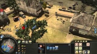 [CoH] Company of Heroes 3vs3 Multiplay Panzer Elite 1