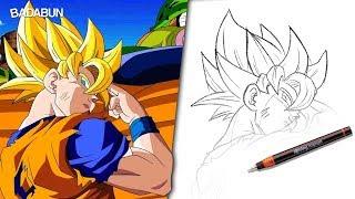 Clases de dibujo   Aprende a dibujar a Goku