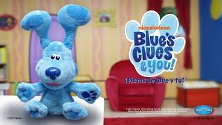 Peek a Boo Plush Blue ¡Las Pistas de Blue y tú!