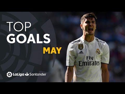 TOP 5 Goles Mayo LaLiga Santander 2018/2019