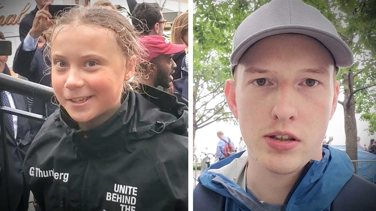 "Greta Thunberg in NYC: 16-year-old is ""Rosa Parks"" of climate change 
