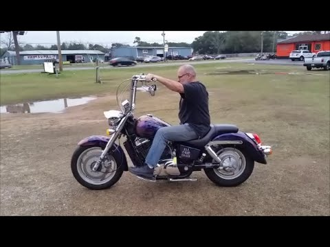 2005 Honda Shadow Sabre With Apes Youtube