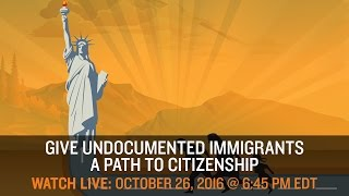 LIVE DEBATE - Give Undocumented Workers a Path to Citizenship