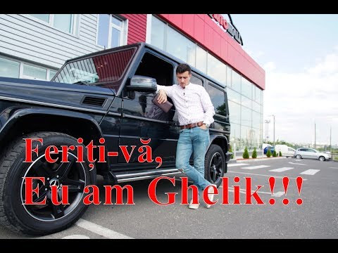 Cum să conduci corect un Mercedes G-Class!
