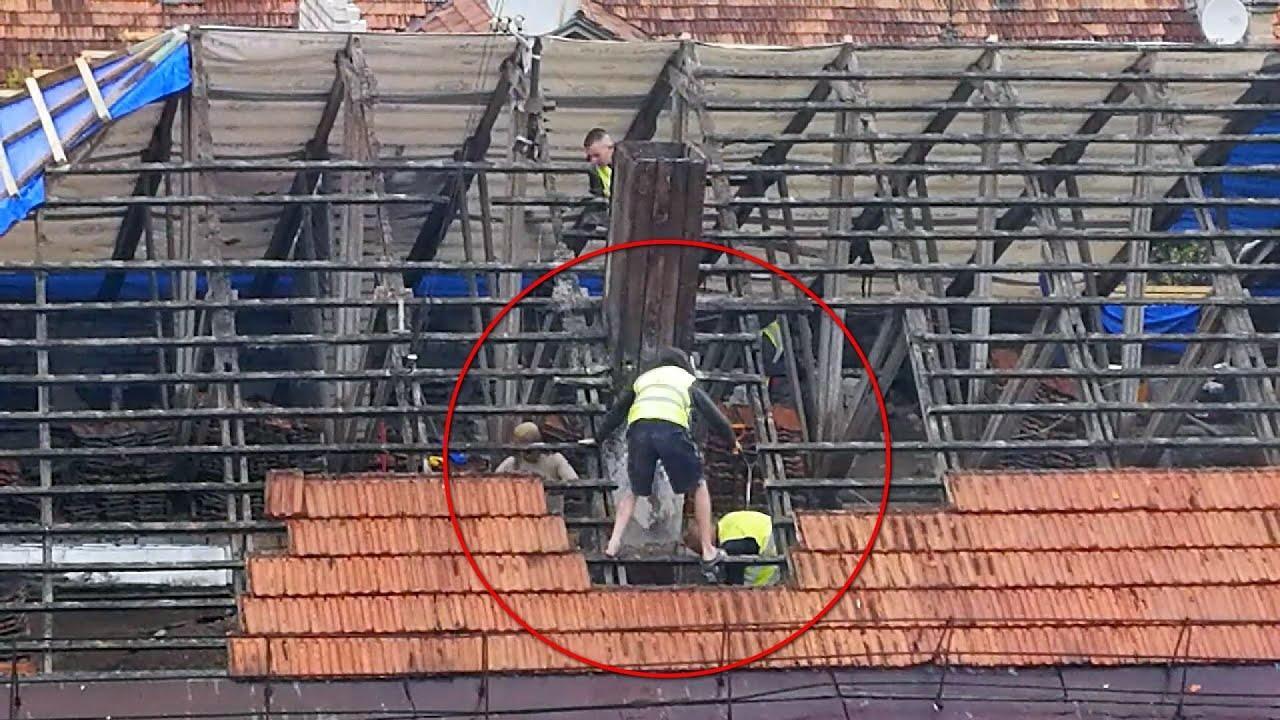 Pamačius, kaip dirba statybininkai Vilniuje, moterį ištiko šokas – puolė viską filmuoti