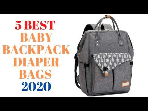 5 Best Baby Backpack Diaper Bags 2020