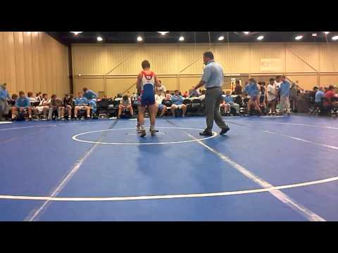 Tyjuan Brown Junior duals Team NC vs. Tennessee