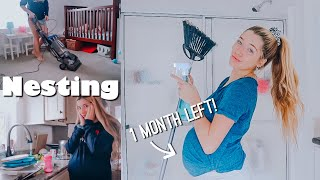CLEAN WITH ME: Preparing my whole house for new baby // teen mom of 2