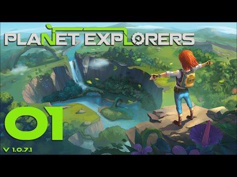Planet Explorers 01 Авария