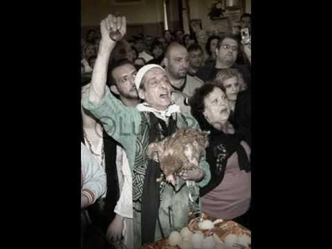 Madonna delle Galline: Franco Tiano canta