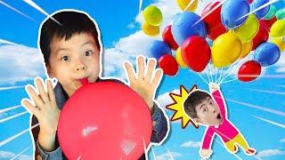 알록달록 풍선 놀이 같이 불어요!!! Learn and play with Balloons !!!!!- 마슈토이 Mashu ToysReview