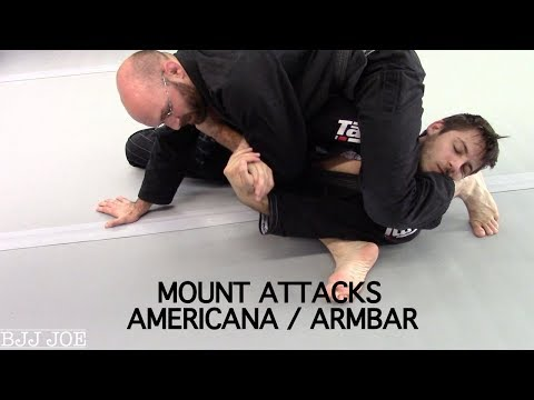 Mount Attacks | Americana & Armbar with Professor Franjo Artukovic, Stuttgart, Germany