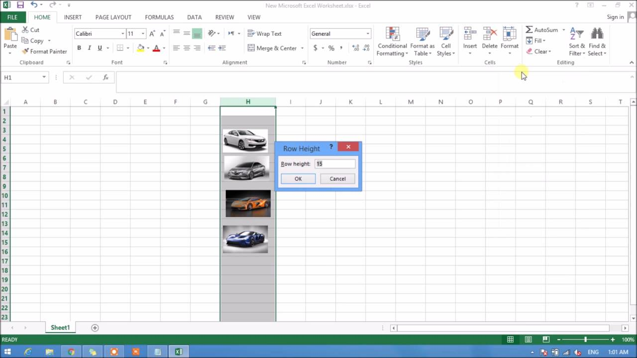 How To Insert Multiple Images At Once In Microsoft Excel