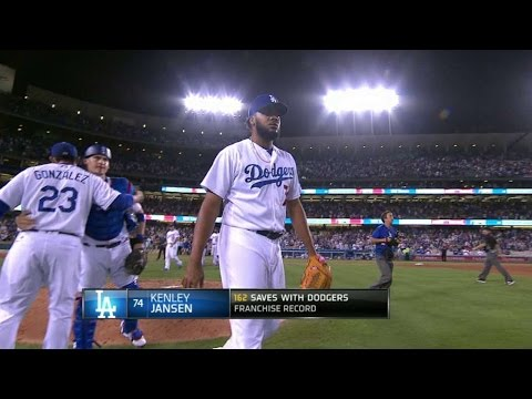 WSH@LAD: Jansen passes Gagne on Dodgers' save list