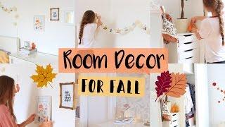 FALL ROOM DECOR 🍂 für ein gemütliches Zimmer im Herbst