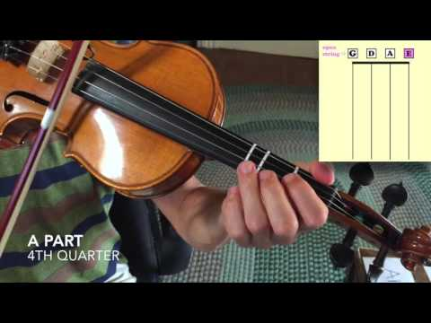 Rights of Man - Basic Fiddle Lesson