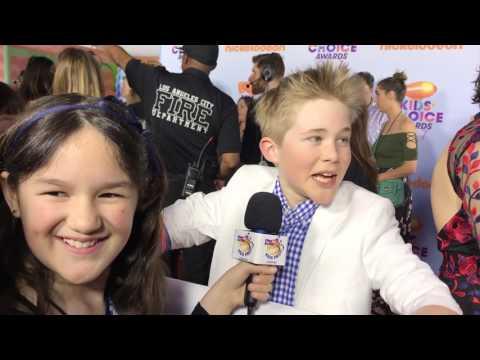 Kids Choice Awards Red Carpet Interviews by Dariana A.