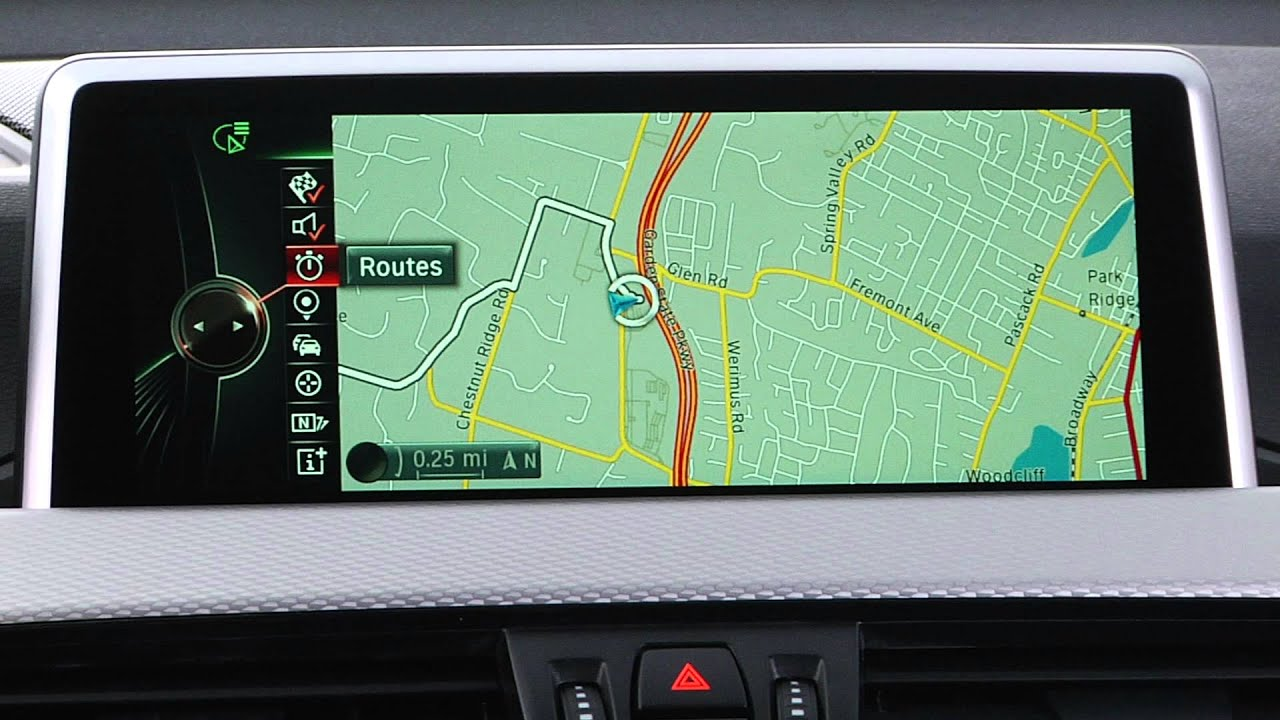 idrive navigation map content bmw genius how to youtube. Black Bedroom Furniture Sets. Home Design Ideas