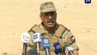 """قوات عسكرية أردنية وسعودية نفذت تمرينات خلال تمرين """"عبدالله 5"""" - (3-5-2017)"""