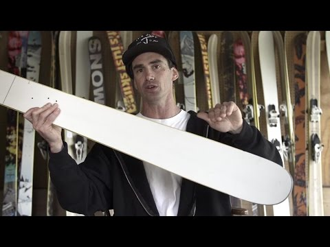 The Friend - J ski shape explained by Jason Levinthal