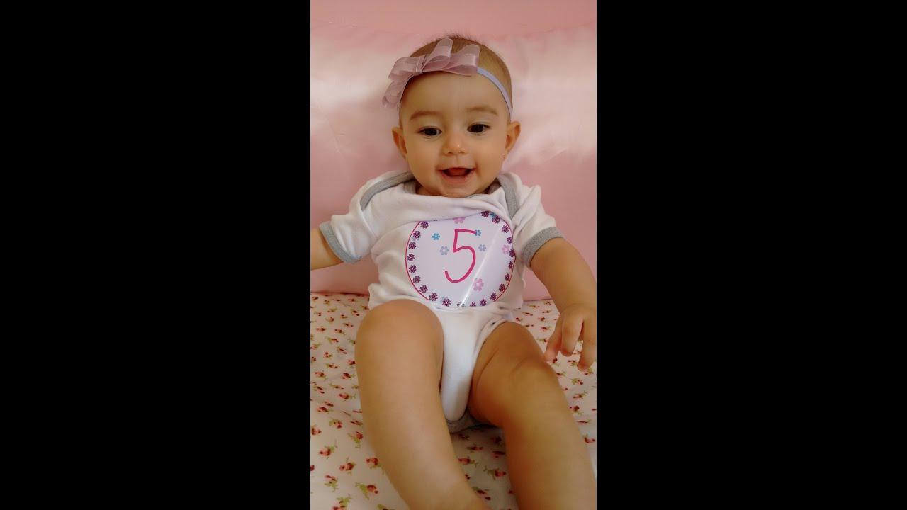 Di rio do beb 5 meses da man youtube - Bebes de tres meses ...