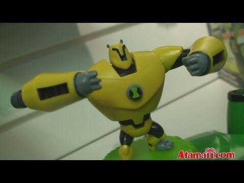 Ben 10 Ultimate Alien Spidermonkey /& Echo Echo mini action figures