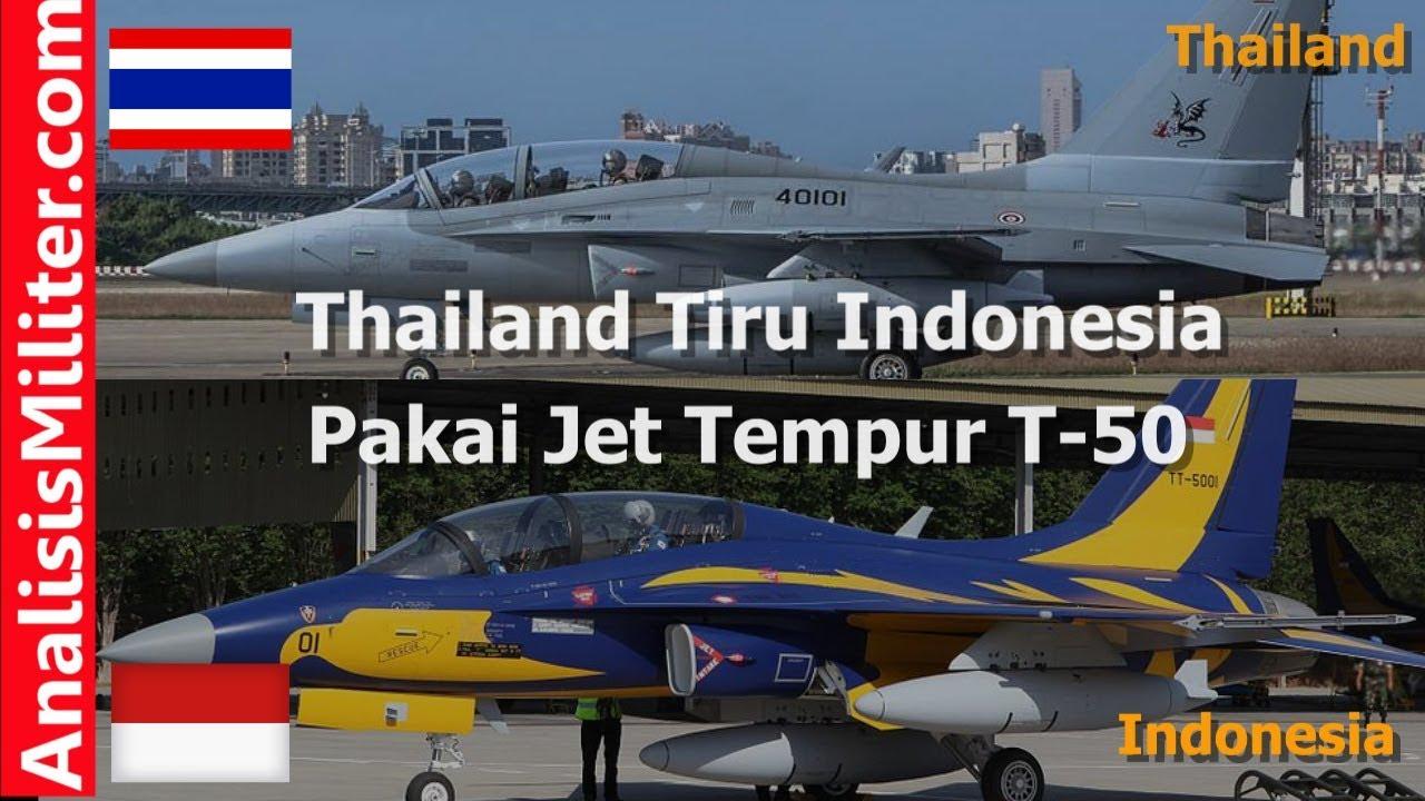 Ikuti Indonesia, Thailand Pakai Jet Tempur T-50 Golden Eagle