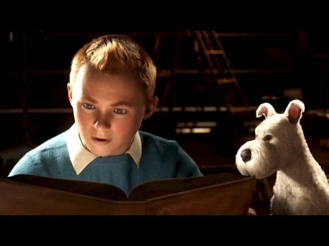 TINTIN Official Trailer # 2 [Spielberg]