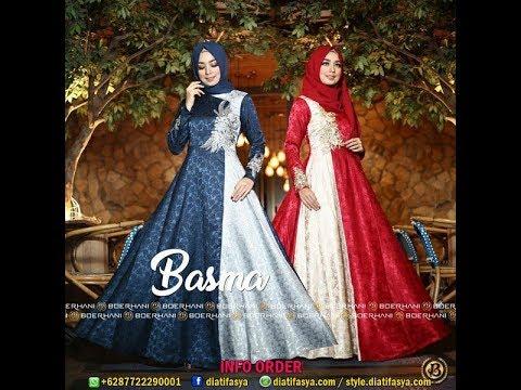 Model Gamis Syar I Untuk Lebaran 2018 Baju Muslim Modern Modis