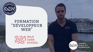 [Formation labellisée GEN] Développeur web de la Wild Code School